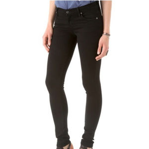 Citizens of Humanity Avedon Black Skinny Jeans 28